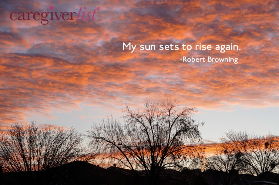 Caregiver Stress Relief Photo of the Week