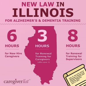 Illinois Caregiver Training Law for Memory Loss Caregiving